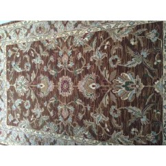 ALFOMBRA BROWN MULTI COLOR 90X60