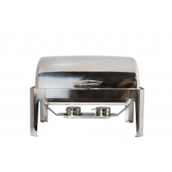 CHAFER RECTANGULAR TIPO DOMO