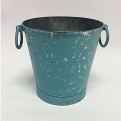 BABY BLUE BUCKET WITH SIDE HANDLES