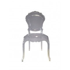 SILLA MADAME POUGY CLEAR