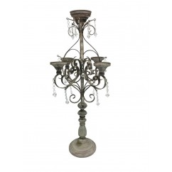 CANDELABRO ANTIQUE RUSTIC GLAM
